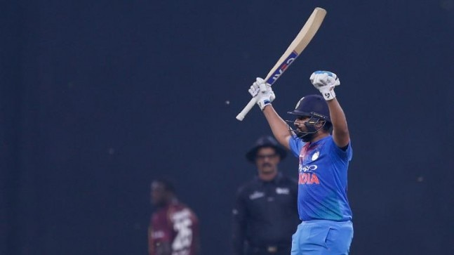 Rohit Sharma became the first batsman to score four hundreds in T20I