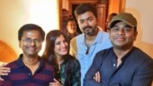 Sarkar team is all smiles at the success party