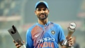 hikhar Dhawan scored his career-best 92 in T20Is