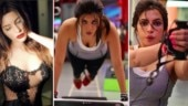 Shama Sikander workout pics will inspire you to hit the gym right now. See pics