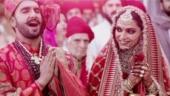Ranveer Singh and Deepika Padukone at their Anand Karaj ceremony