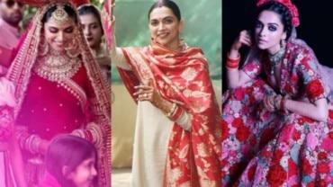 All of Deepika Padukone's wedding looks.