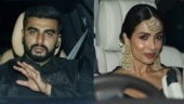 Malaika Arora and arjun Kapoor at Sandeep Khosla Diwali bash. Photo: Yogen Shah