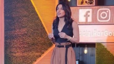 Priyanka Chopra hosting Social For Good.