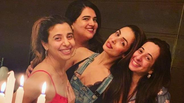 Malaika Arora with her girl gang