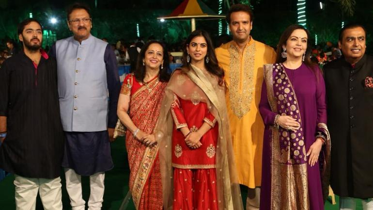 The Ambani and Piramal family