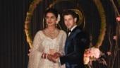 Priyanka Chopra and Nick Jonas look crazy in love at Delhi wedding reception. 15 pics