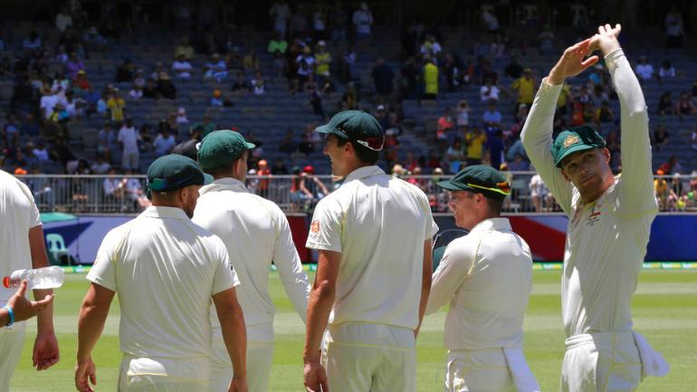 Australia (326 & 243) beat India (283 & 140) by 146 runs in Perth, level 4-match series 1-1 on Tuesday