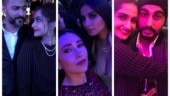 Sonam Kapoor-Anand Ahuja and Karisma light up Anil Kapoor's birthday bash