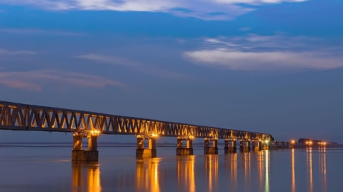 Bogibeel Bridge, longest bridge in india, length of bogibeel bridge, bogibeel bridge map, bogibeel bridge assam, bogibeel bridge inauguration, bogibeel bridge latest news, bogibeel bridge km, bogibeel bridge opening, Narendra modi, Pm Modi