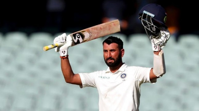 Cheteshwar Pujara scored his 16th Test hundred as he waged a lone battle for India