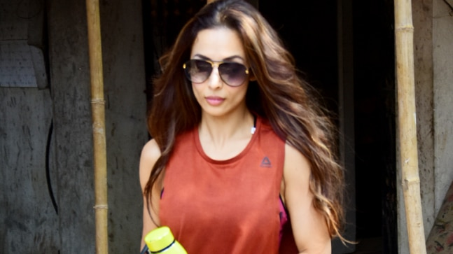 Malaika Arora spotted after gym session Photo: Yogen Shah