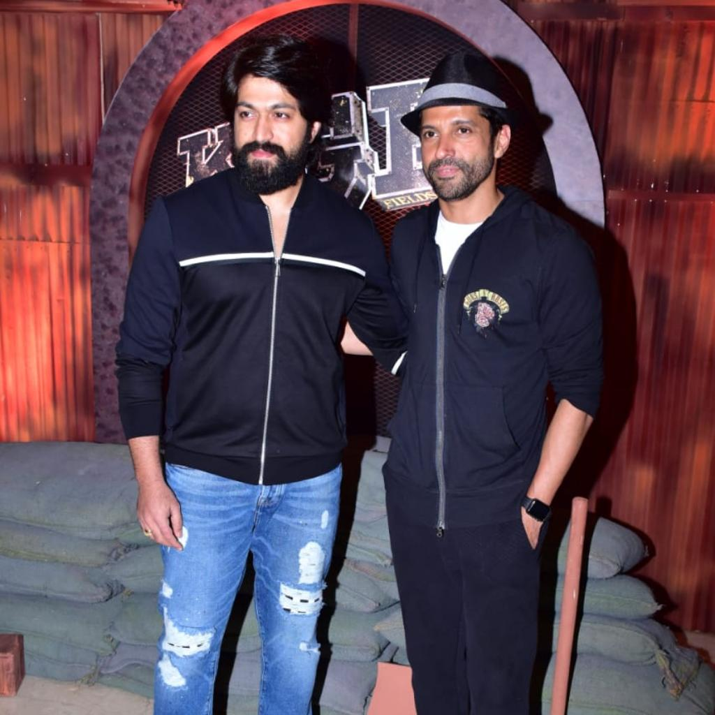 Yash and Farhan Akhtar