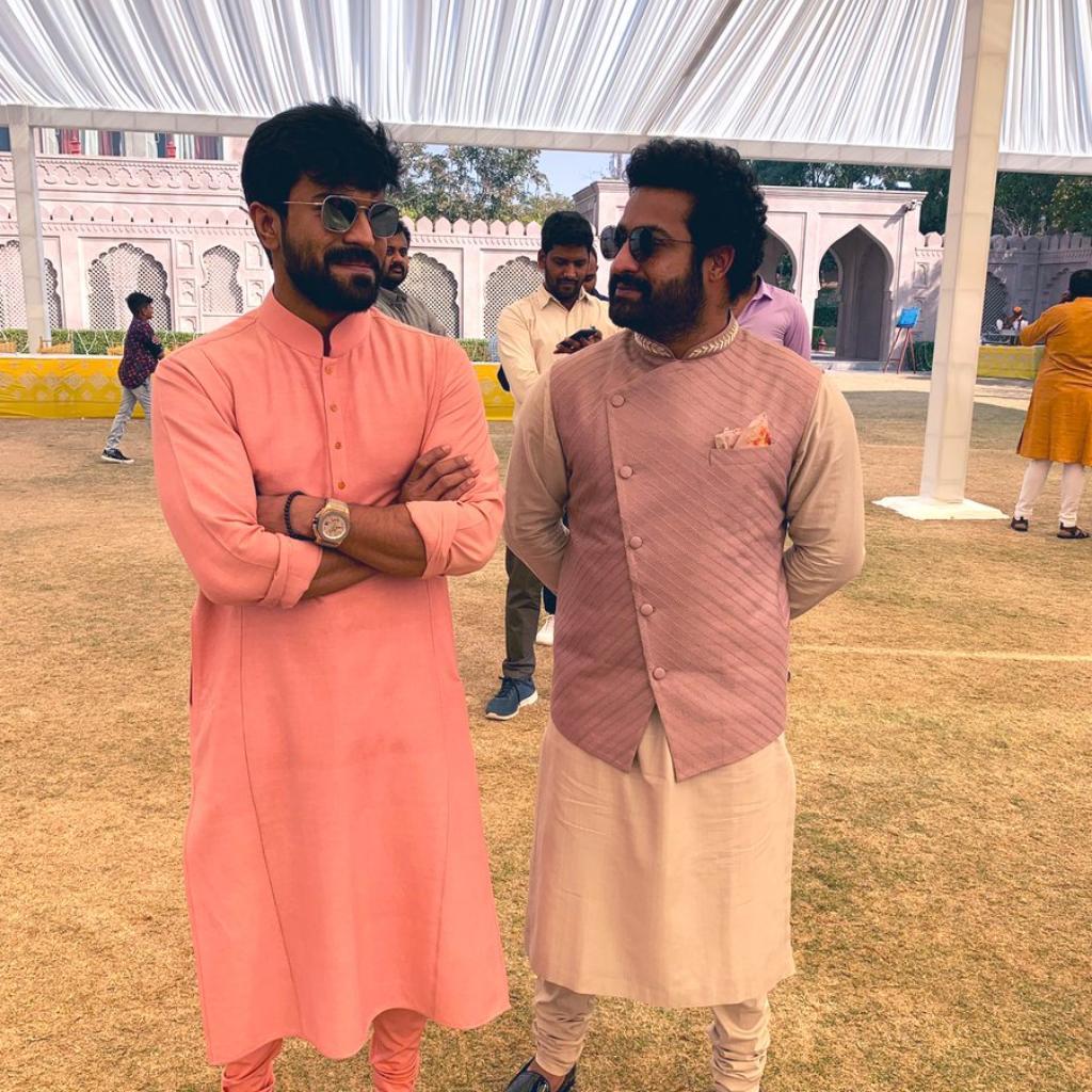 Ram Charan and Jr NTR