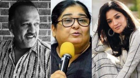 Alok Nath, Vinta Nanda and Sandhya Mridul