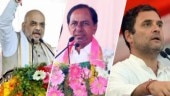 TRS, BJP, Congress battle it out for Telangana