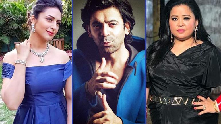 Divyanka,Sunil and Bharti
