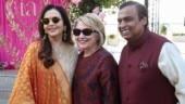 Hillary Clinton arrives in Udaipur