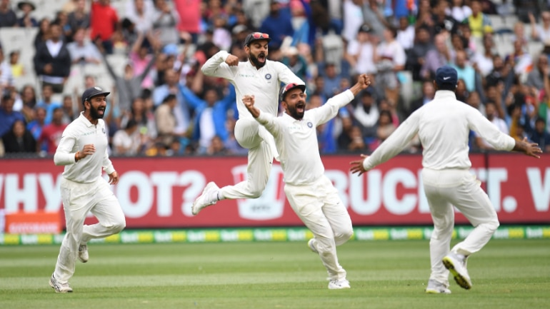 India took an unassailable 2-1 lead in the 4-Test series after beating Australia at the MCG by 134 runs (Reuters Photo)
