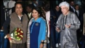 Javed Akhtar and Rajeev Shukla off to Udaipur for Ambani pre-wedding bash
