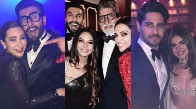 Ranveer and Deepika Mumbai reception