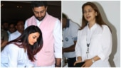 Abhishek-Aishwarya to Juhi Chawla: Bollywood at Nana Chudasama's prayer meet