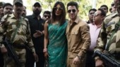 Priyanka Chopra and Nick Jonas' first public appearance post their wedding.