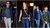 Hrithik Roshan returns from family vacay with ex-wife Sussanne Khan, sons Hrehaan and Hridhaan