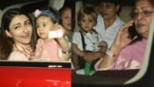 Rani Mukerji's daughter Adira turns 3: Soha-Inaaya, Yash-Roohi and others join celebrations