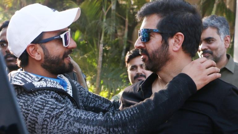 Ranveer Singh and Kabir Khan