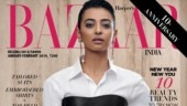 Radhika Apte in leather corset for Harper's Bazaar India is leaving us gasping for breath