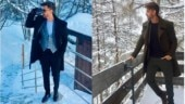 Hrithik Roshan is raising the temperature in chilly Switzerland. See pics
