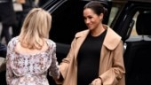Pregnant Meghan Markle puts work before everything else. Stuns in black dress