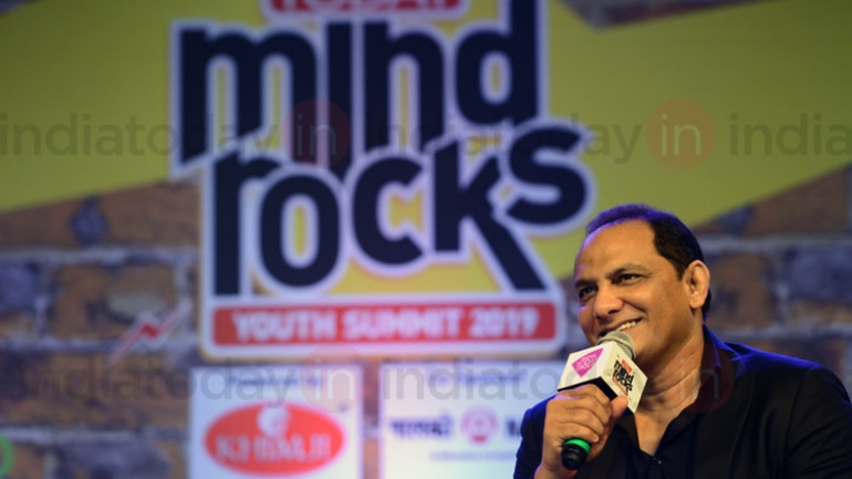 Mohammad Azharuddin visited Bhubaneshwar for the first time in 20 years thanks to the India Today Mind Rocks 2019 (India Today Photo)