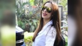 Malaika Arora teaches how to nail street style in chic white shirt and printed pants