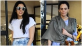 Akash Ambani wedding: Shloka Mehta and mom Mona twin in blue on shopping day