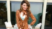 Urvashi Rautela is a fashion disaster in this brown thigh-slit latex gown