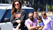Saif Ali Khan and Kareena Kapoor's day out with son Taimur. See pics