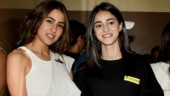 Sonchiriya screening: Sara Ali Khan and Ananya Panday steal the show
