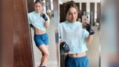 Hina Khan flaunts her chiseled midriff and toned legs in latest pics