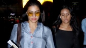 Kajol and Nysa Devgn are a sight for sore eyes at Mumbai airport. See pics