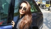 Malaika Arora in all-grey gymwear is what classic workout fashion is all about