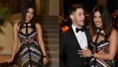 Priyanka Chopra in sheer dress with Nick Jonas sets Beverly Hills on fire. See pics