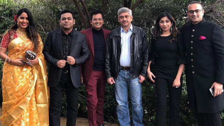 AR Rahman attends the Grammy Awards 2019