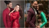 Former Bigg Boss contestant Sana Khan and boyfriend Melvin Louis look madly in love. See pics