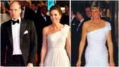 Prince William and Kate Middleton at BAFTA, Princess Diana