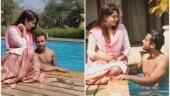 Dipika Kakar can't take her eyes off shirtless Shoaib Ibrahim. See pics