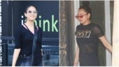 Shahid Kapoor's wife Mira Rajput and Sonakshi Sinha go black at the gym