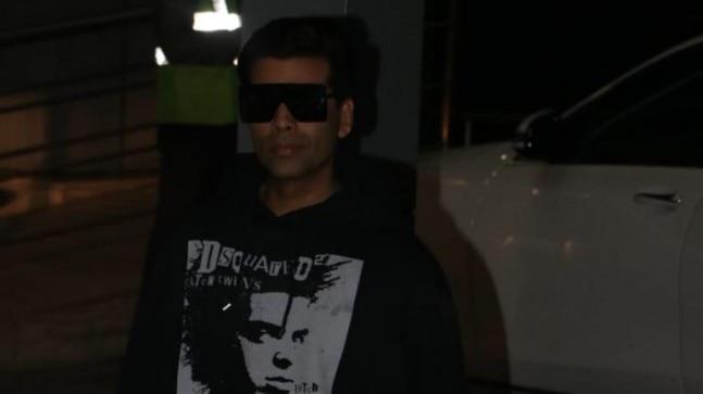 Karan Johar has taken off to Switzerland for Akash Ambani's bachelor party