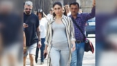 Pregnant Kareena Kapoor Khan flaunts baby bump on Good News set. See pics